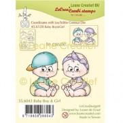 Lecreadesign Étampe Bébé Fille & Garçon
