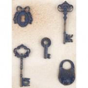 Prima Metal Patina trinkets Clés