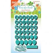 Joy! Découpe Alphabet Ballons