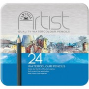 Crayons Aquarelle Boîte de 24