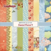 "ScrapBerry's Pad 6"" X 6"" Sweetheart"