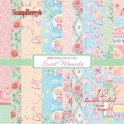 "ScrapBerry's Pad 6"" X 6"" Sweet Moments"