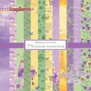 "ScrapBerry's Pad 6"" X 6"" Precious Memories"