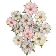 Prima Fleurs Neige scintillante