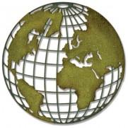 Sizzix Thinlits Die - Globe terrestre