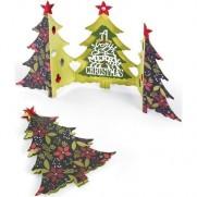 Sizzix Thinlits Die - Arbre de Noël pliage