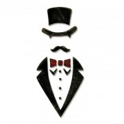 Sizzix Bigz Thinlits Die - The Dapper