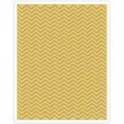 Sizzix Plaque embossage Chevron By Tim Holtz