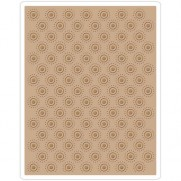 Sizzix Plaque embossage Dotted Bullseye