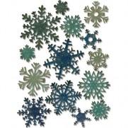 Sizzix Thinlits Die Paper Snowflakes mini