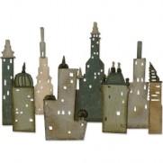 Sizzix Thinlits Die Metropolis Cityscape