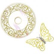 Sizzix Framelits Die & Étampe Charm et Papillon