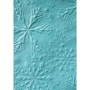 Sizzix Plaque embossage 3D Flocons