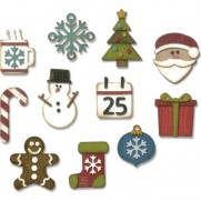 Sizzix Thinlits Die - Petites choses de Noël