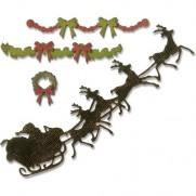 Sizzix Thinlits Die - C'est Noël