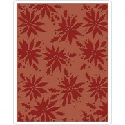 Sizzix Plaque embossage Poinsettias