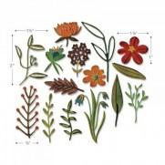 Sizzix Thinlits Die - Floral