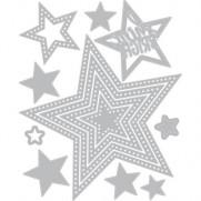 Sizzix Die Framelits Étoiles