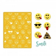 Sizzix Thinlits Die & Plaque d'embossage - Emojis