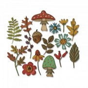 Sizzix Thinlits Die - Funky Foliage