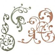 Sizzix Die Thinlits Ornements flourish