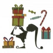 Sizzix Die Thinlits Aide pour le Père Noël