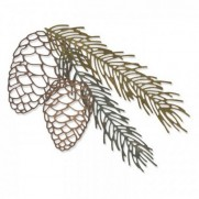 Sizzix Die Thinlits Branche de Pin
