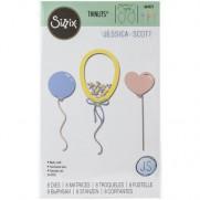 Sizzix Die Framelits Ballons