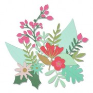 Sizzix Die Thinlits Abondance Florale