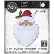 Sizzix Die Thinlits Santa