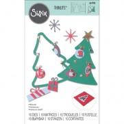 Sizzix Die Thinlits Arbre de Noël