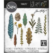 Sizzix Die Thinlits par Tim Holtz Nature Funky