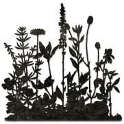 Sizzix Die Thinlits Champs de fleurs par Tim Holtz