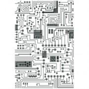 Sizzix Plaque embossage Multi-niveaux Circuits