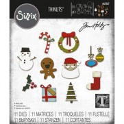 Sizzix Die Thinlits Noël Minis