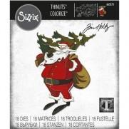 Sizzix Die Thinlits Père Noël des Bois