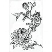 Sizzix Plaque embossage 3D Mini Roses par Tim Holtz