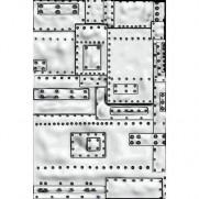 Sizzix Plaque embossage 3D Mini Fonderie par Tim Holtz
