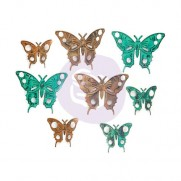 Prima Embellissements en métal Papillons