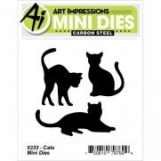 Art Impressions Mini Matrices Chats