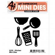 Art Impressions Mini Matrices Cuisine