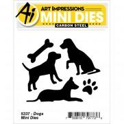 Art Impressions Mini Matrices Chiens