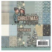 """Amy Design Pad 6""""X6"""" Christmas Wishes"""