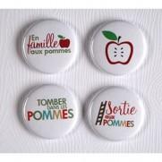 Limecitron Badges Aux Pommes