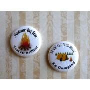 Herazz Badges Autour du Feu