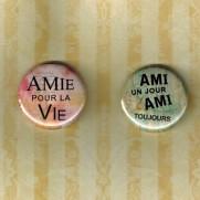 Herazz Badges Ami - Amie