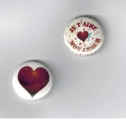 Herazz Badges Je t'aime mon amour