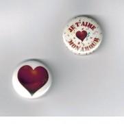 Herazz Badges Je t'aime mon amour