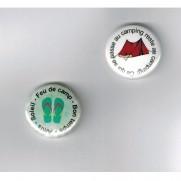 Herazz Badges Ce qui se passe au camping
