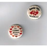 Herazz Badges Bonne fête Maman